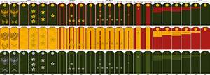 Russian Army Rank Insignia - Bing images