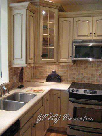 upper corner cabinet kitchen redo ideas pinterest