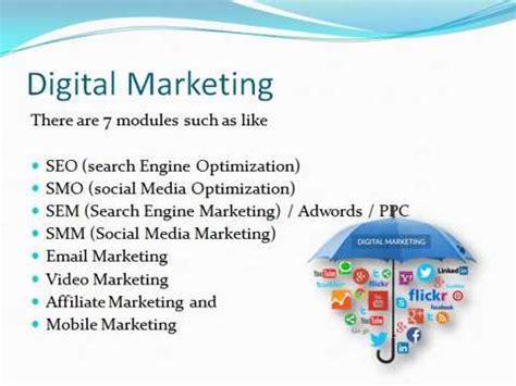 marketing tutorial basic digital marketing tutorials in telugu all free