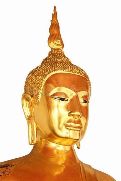 Buddha Statue Boedha Isolated Piano Wat Closeup
