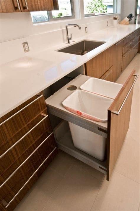 Mülleimer In Küchenschrank by 29 Sneaky Wege Um Einen M 252 Lleimer In Ihrer K 252 Che Zu