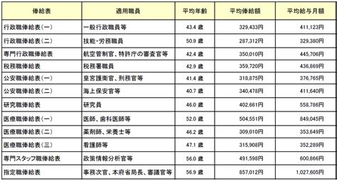 国家 公務員 俸給 表 平成 31 年度
