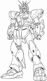 Gundam Coloring Nu Katoki Line Printable Gunpla Bad Super Deviantart Words Ii sketch template