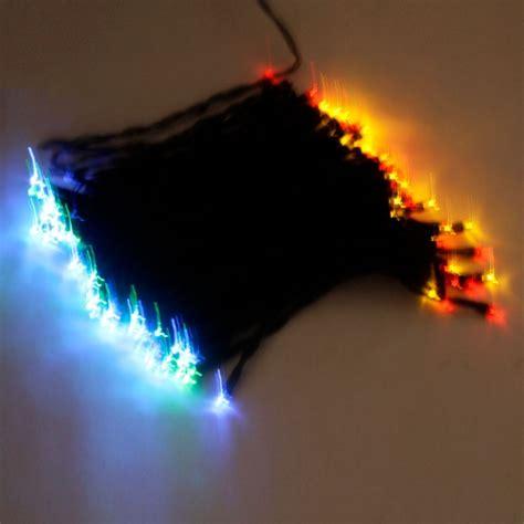 100 led solar neon light rgb string l festival deco