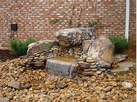 how to build a water feature How to Build a Pondless Waterfall - Backyard Blessings