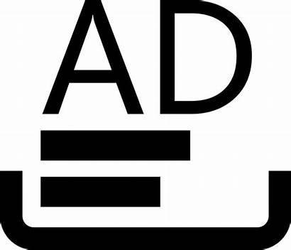 Icon Advertisement Advertising Onlinewebfonts Copywriting Svg Read