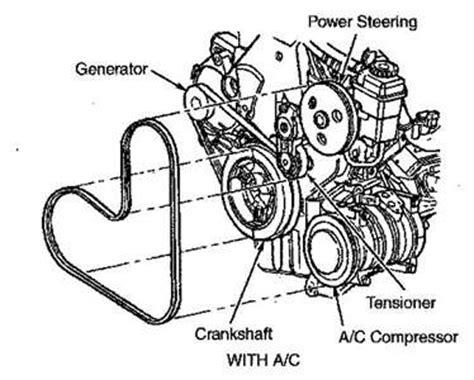Solved Need Replace Alternator Belt Dodge Fixya