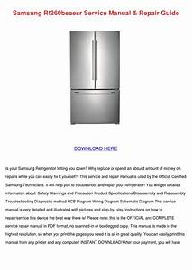 Samsung Rf260beaesr Service Manual Repair Gui By Lynnemarion