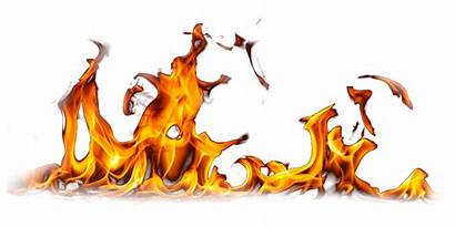 Fire Flame Burning Ground Clipart Transparent Smoke