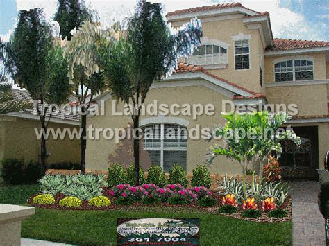 tropical landscape design tropical landscaping designs of ta bay