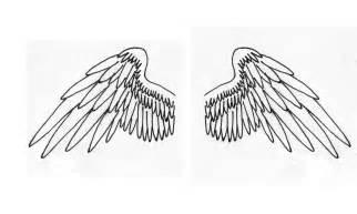 Angel Wing Tattoo Drawings