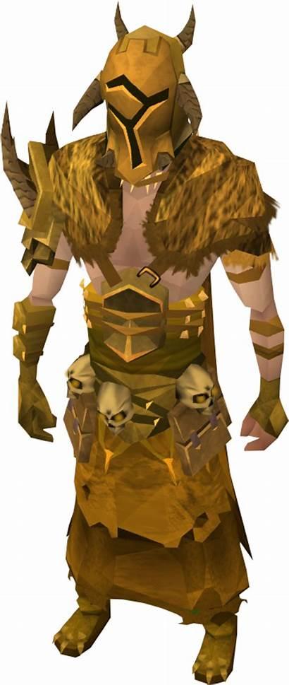 Bandos Armour Golden Warpriest Runescape Helm Wikia