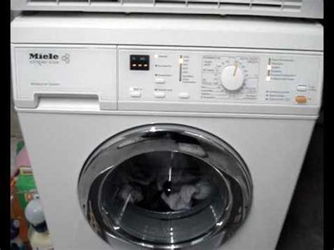 miele w classic miele w 2241 wps fault mode when not washing