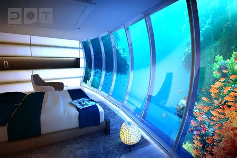stunning underwater hotel the water discus