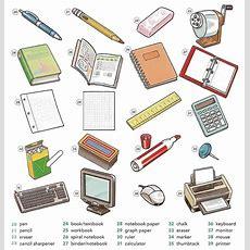 Pen Clipart Classroom Item  Pencil And In Color Pen Clipart Classroom Item