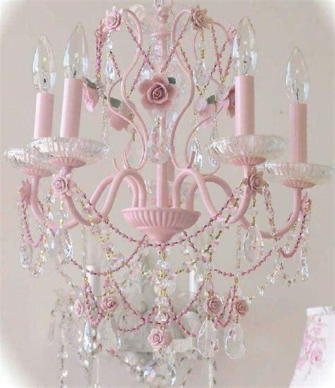 best 25 pink chandelier ideas on
