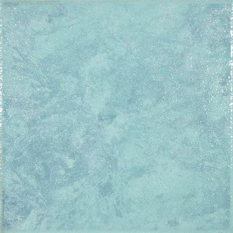 "8""x8"" Londra Turquoise Floor Tile   laundry room"