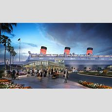 First Look At Queen Mary Island, The Proposed $250m Attraction At Long Beach's Troubled Ship