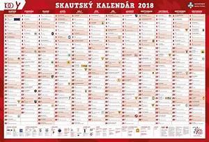 Nástenný kalendár na rok 2018 ScoutShopsk