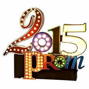 81 best images about prom themes on pinterest halloween With prom light up letters
