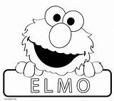 Elmo Coloring Pages Printable Cool2bkids sketch template