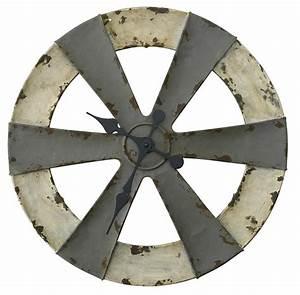 Vintage Wanduhr Groß Holz Metall : xxl wanduhr von madam stoltz industrie design metall vintage 41x3 cm neu ebay ~ Bigdaddyawards.com Haus und Dekorationen