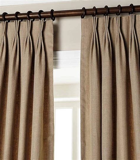 Drapes Pinch Pleat by Simplistic Pinch Pleat Curtains Heading Styles