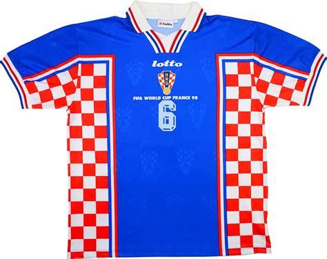 Lotto Croatia Match Issue World Cup Away Shirt