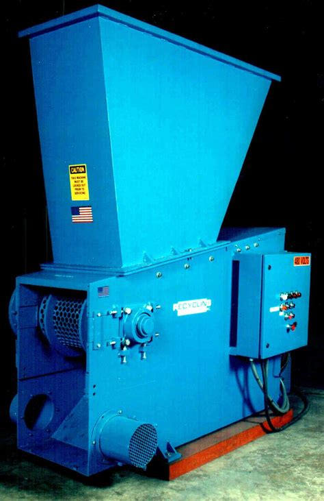 grinder   recycling technologies  high output