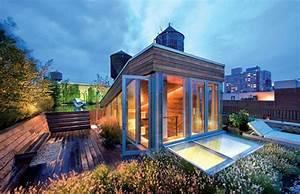great wooden penthouse designs Viahouse Com