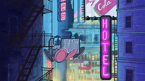cyberpunk galore animated background  massart portfolios