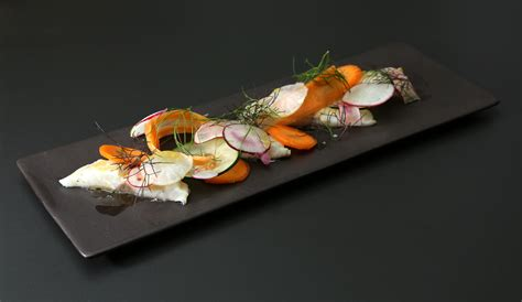 cuisine a la biere ceviche de dorade légumes croquants de florent ladeyn