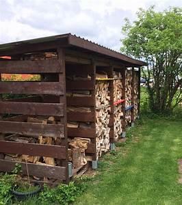 Holzhaus Günstig Bauen : einen stabilen brennholzunterstand brennholzschuppen gut und g nstig selbst bauen ~ Sanjose-hotels-ca.com Haus und Dekorationen
