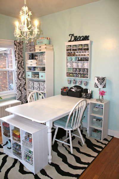 craft room setup table   chairs  mom
