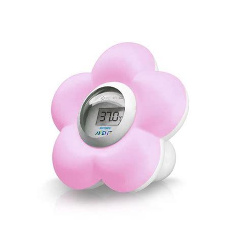 thermometre de chambre b philips avent thermomètre bain chambre numérique sch550