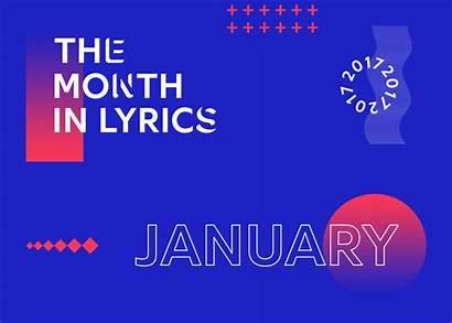 Genius Month Lyrics January Presents