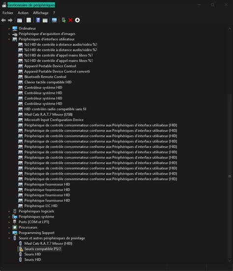 souris usb inutilisable erreur code 10 gestionnaire de microsoft community