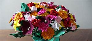Fleur En Origami Facile : origami facile faire des fleurs en papier la marmaille ~ Farleysfitness.com Idées de Décoration