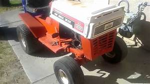 65 Craftsman Riding Mower Crawler Project Tecumseh 8hp 32