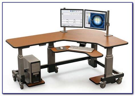 Office Desk Height by Ikea Office Desk Adjustable Height Desk Home Design