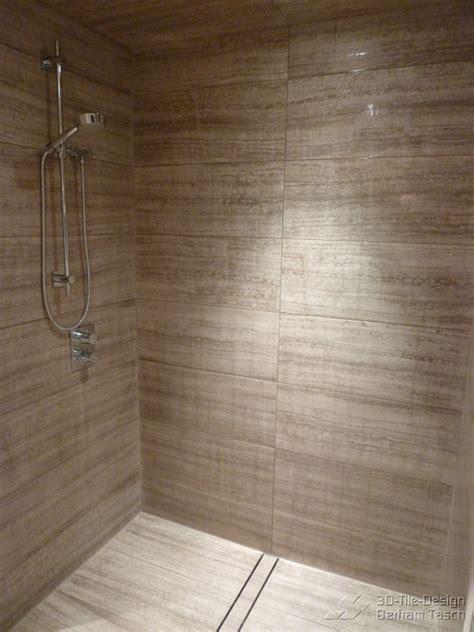 modern bathroom tile designs barrier free curbless shower coquittlam modern