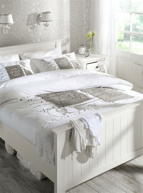 chambre blanc décoration chambre adulte blanc