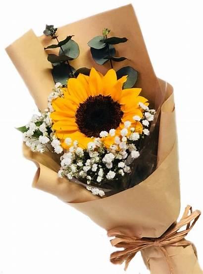 Sunflower Soleil Bouquets Single Floral Valentine Valentines