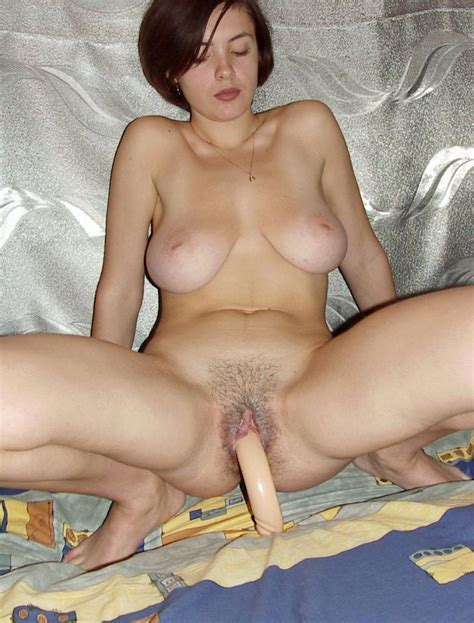 Sexy Milf With Big Boobs And Hairy Pussy Plays With Dildo Russian Sexy Girls