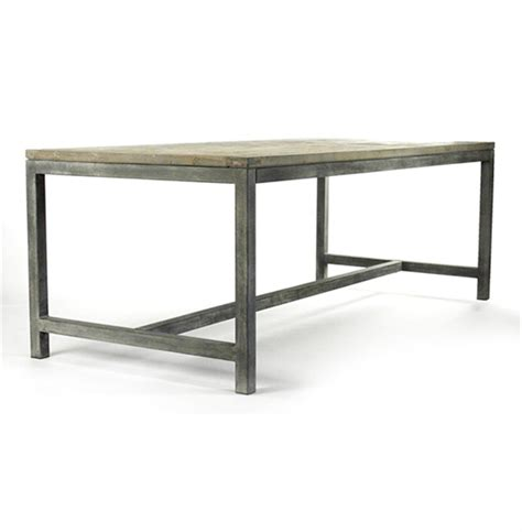 rustic modern dining table abner industrial modern rustic bleached oak grey dining
