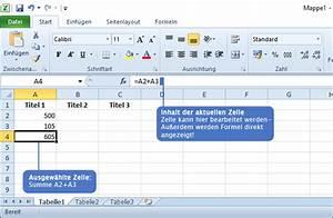 Excel Zelle Berechnen : excel starter tipps einsteiger tipps f r ms excel ~ Themetempest.com Abrechnung