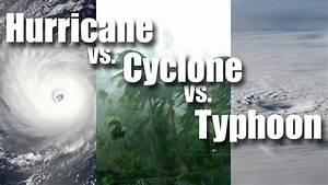 What is the difference between Cyclones, Typhoons ...