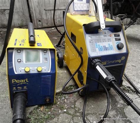 gys smartmig 162 test gys schutzgas schwei 223 ger 228 te motorradreisefuehrer de