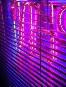aesthetic neon purple pink glow followback