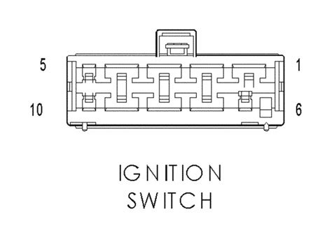 jeep yj ignition switch wiring diagram wiring diagram